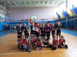 Волейболістки нашої школи знову серед найкращих!