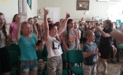 Розпочав роботу мовний  табір «Rainbow Camp» 2017