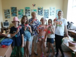 Сьогодні до нас приєдналася волонтерка з Фінляндії